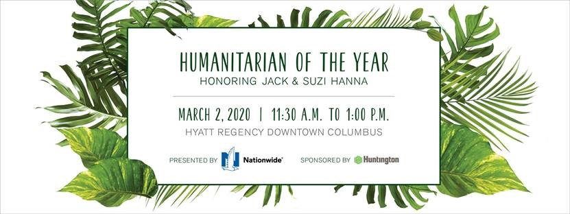 Crabbe, Brown & James is proud to support the 23rd Annual Humanitarian of the Year honoring Jack and Suzi Hanna