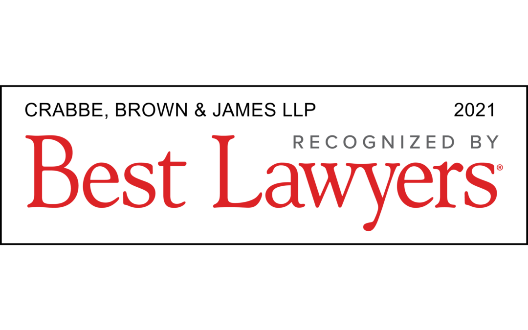 Crabbe, Brown & James Attorneys Receive Best Lawyers in America© Distinction for 2020
