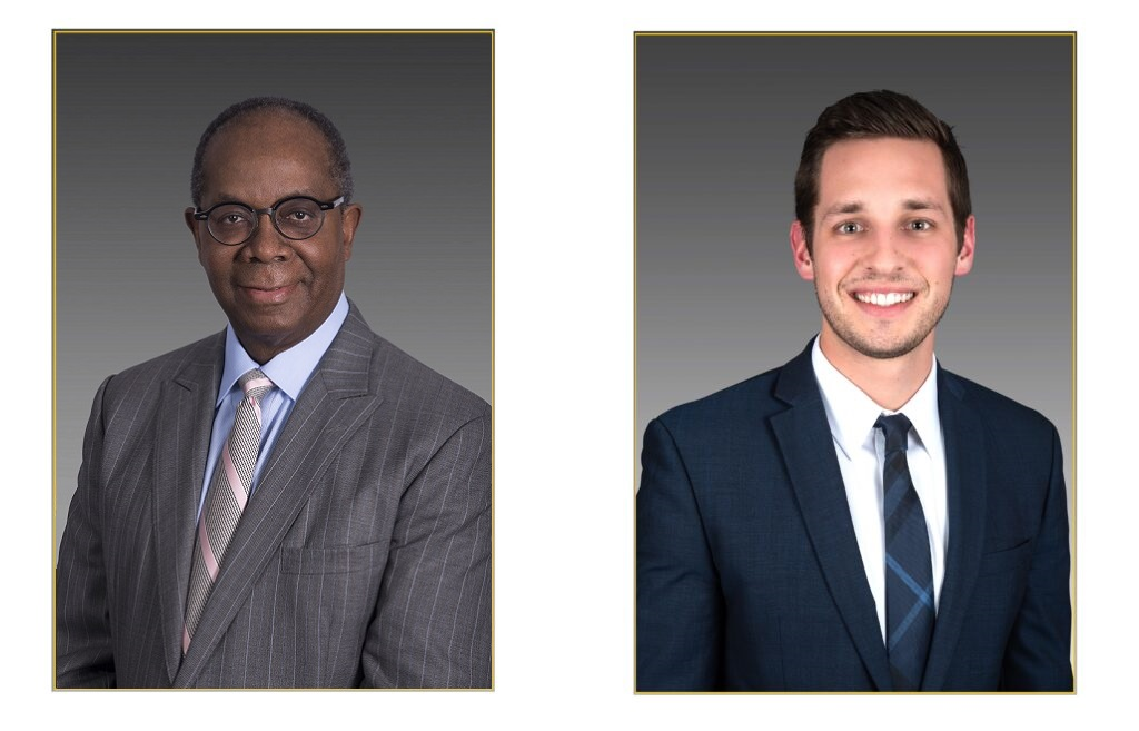Crabbe, Brown & James attorneys Larry H. James and Christopher R. Green